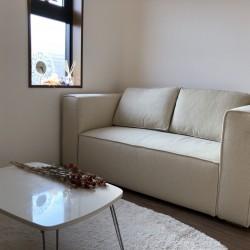 部屋に溶け込むSound Clear Sofa